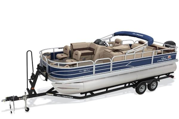 2018 SUN TRACKER FISHIN' BARGE 22 DLX for sale