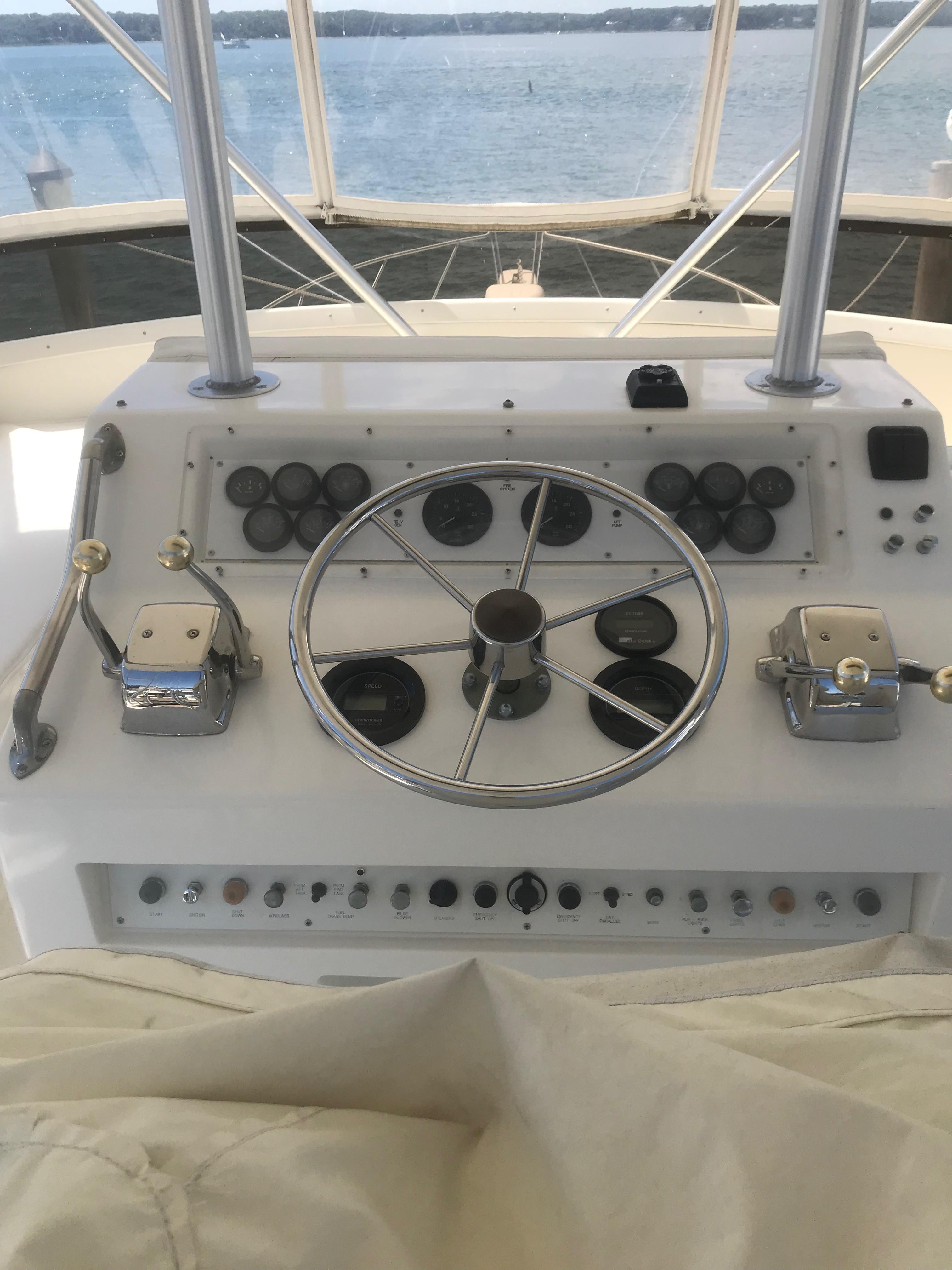 Bonnie K Post 1990 50 Fb Convertible 50 Yacht For Sale In Us