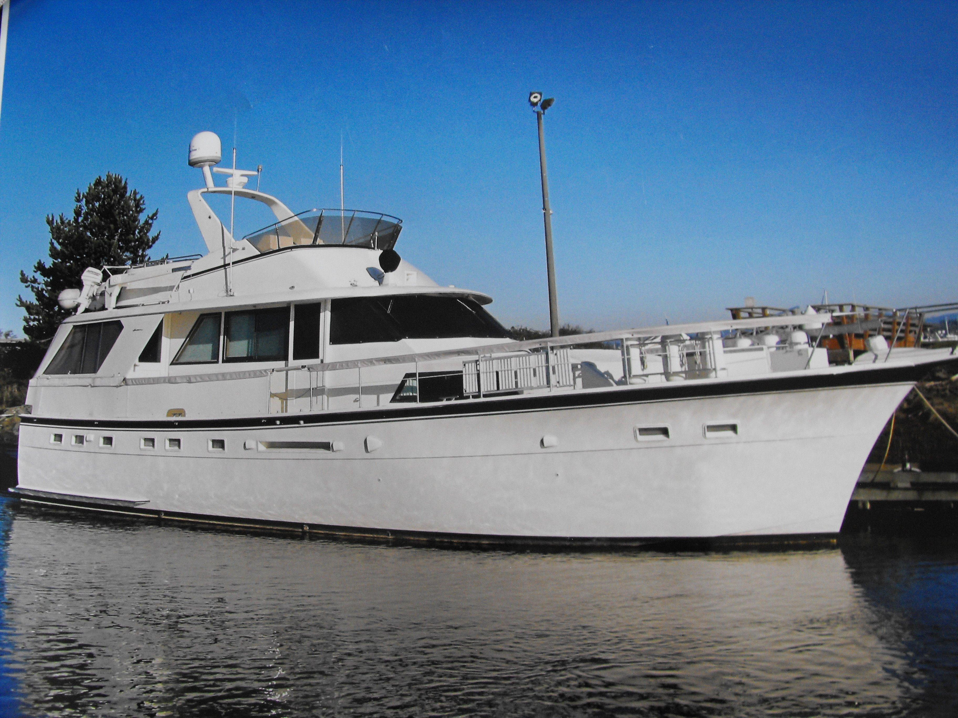 53 hatteras blue moon 1979 marysville denison yacht sales for Large motor yachts for sale