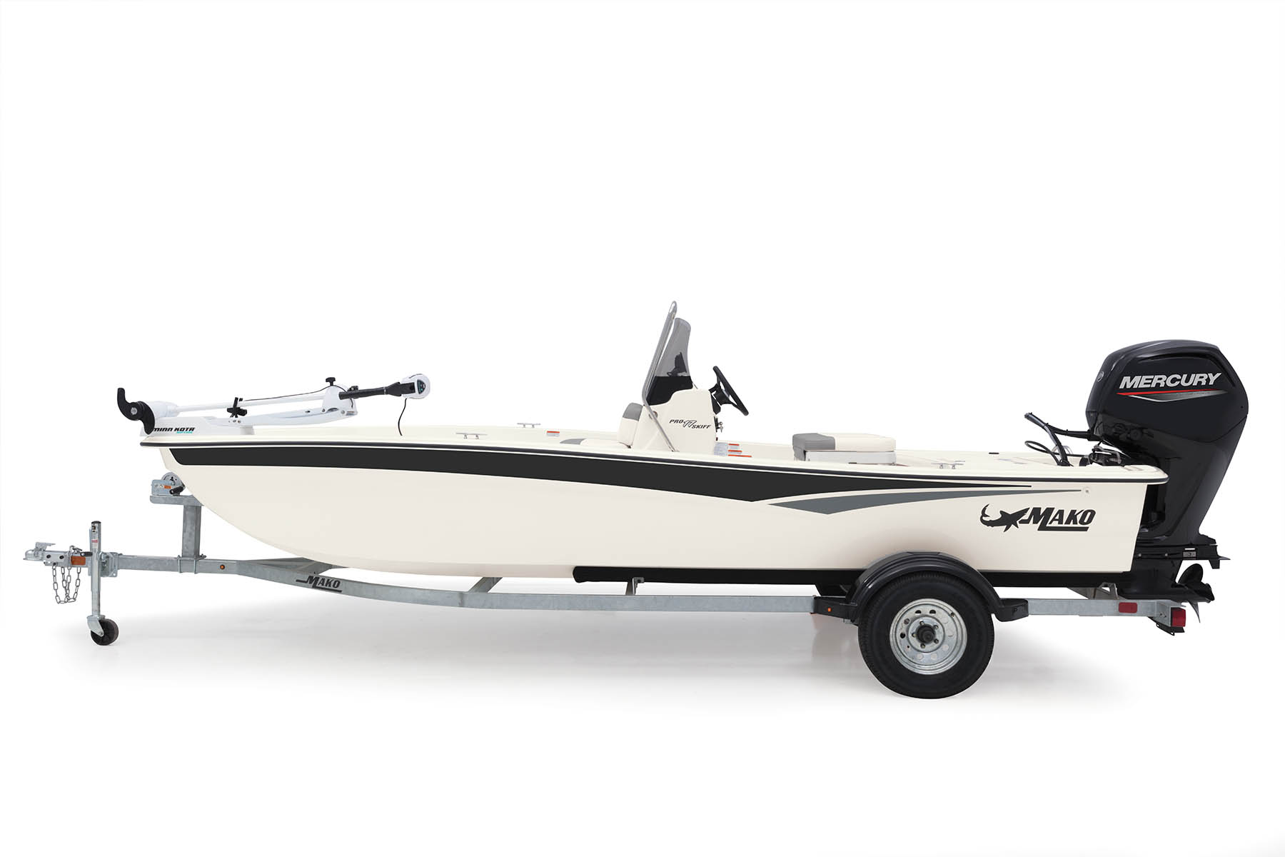 2020 Mako boat for sale, model of the boat is Pro Skiff 17 CC & Image # 1 of 10
