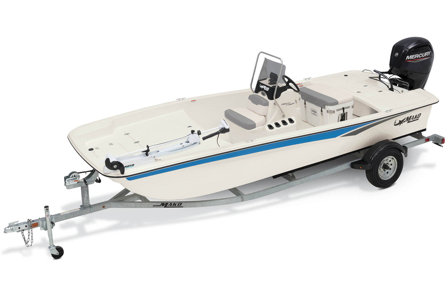 2020 Mako boat for sale, model of the boat is Pro Skiff 17 CC & Image # 4 of 10