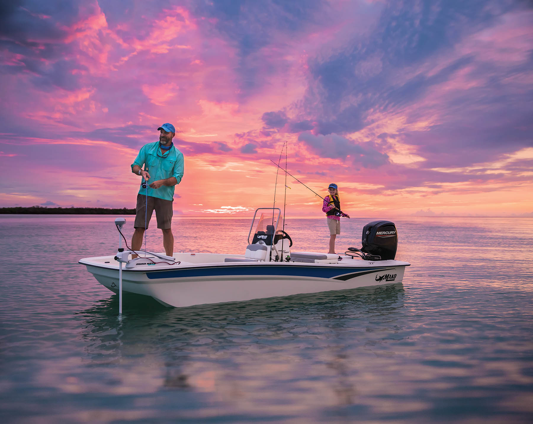 2020 Mako boat for sale, model of the boat is Pro Skiff 17 CC & Image # 9 of 10