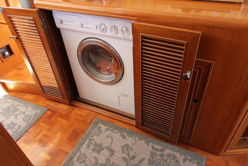 Custom Washer Dryer Cabinet