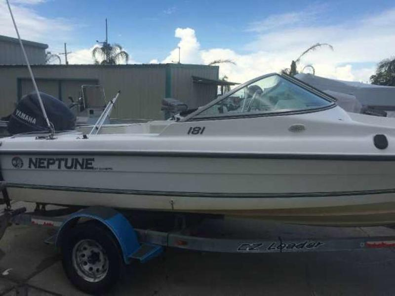 1996 Sunbird boat for sale, model of the boat is Neptune 181 DC & Image # 1 of 27