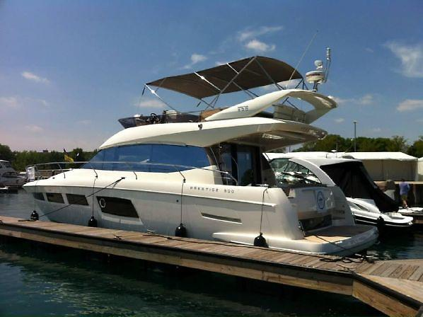 2013 Prestige 500 Fly Bridge
