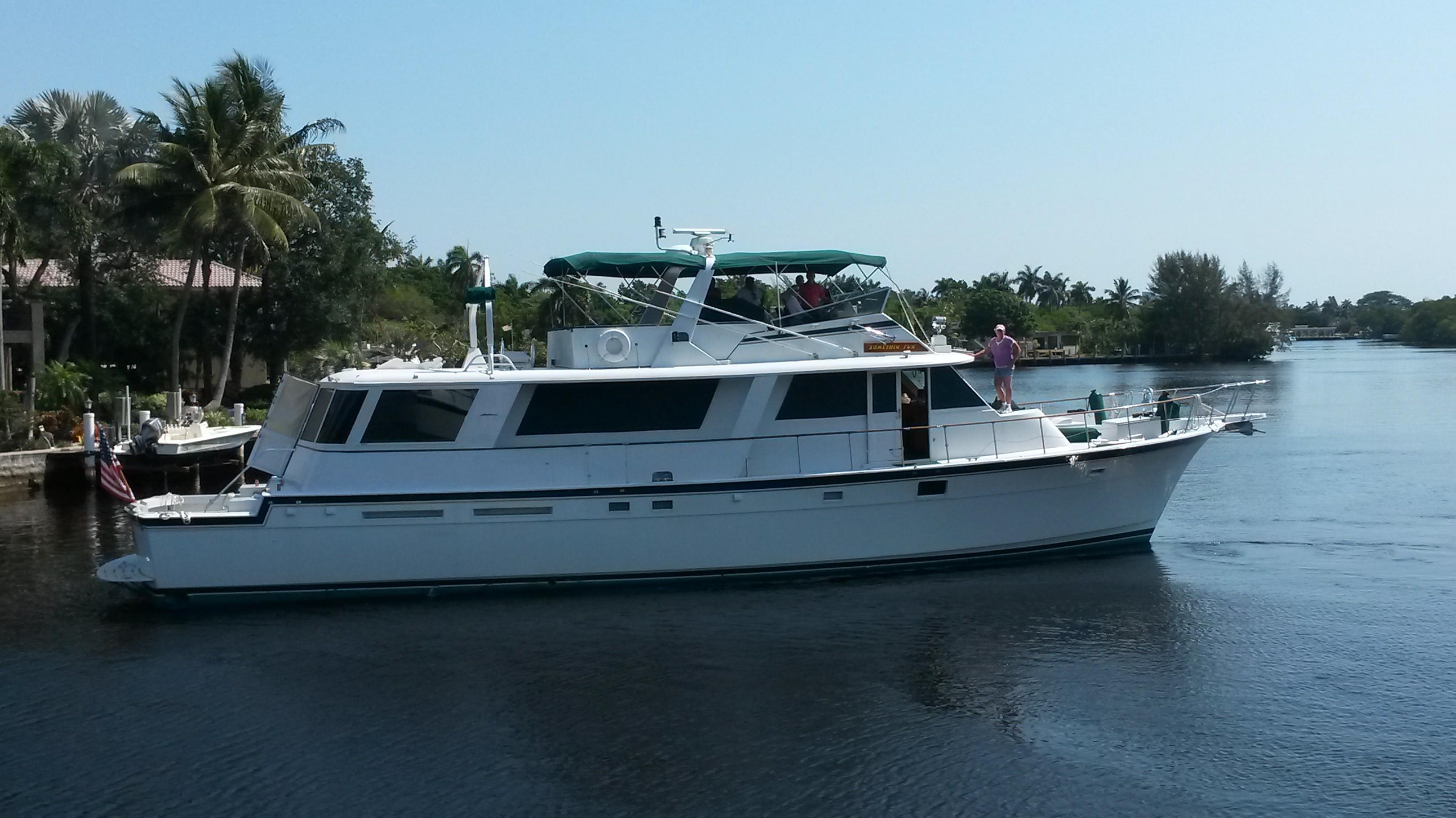 72' Hatteras Motor Yacht SOMETHIN FUN