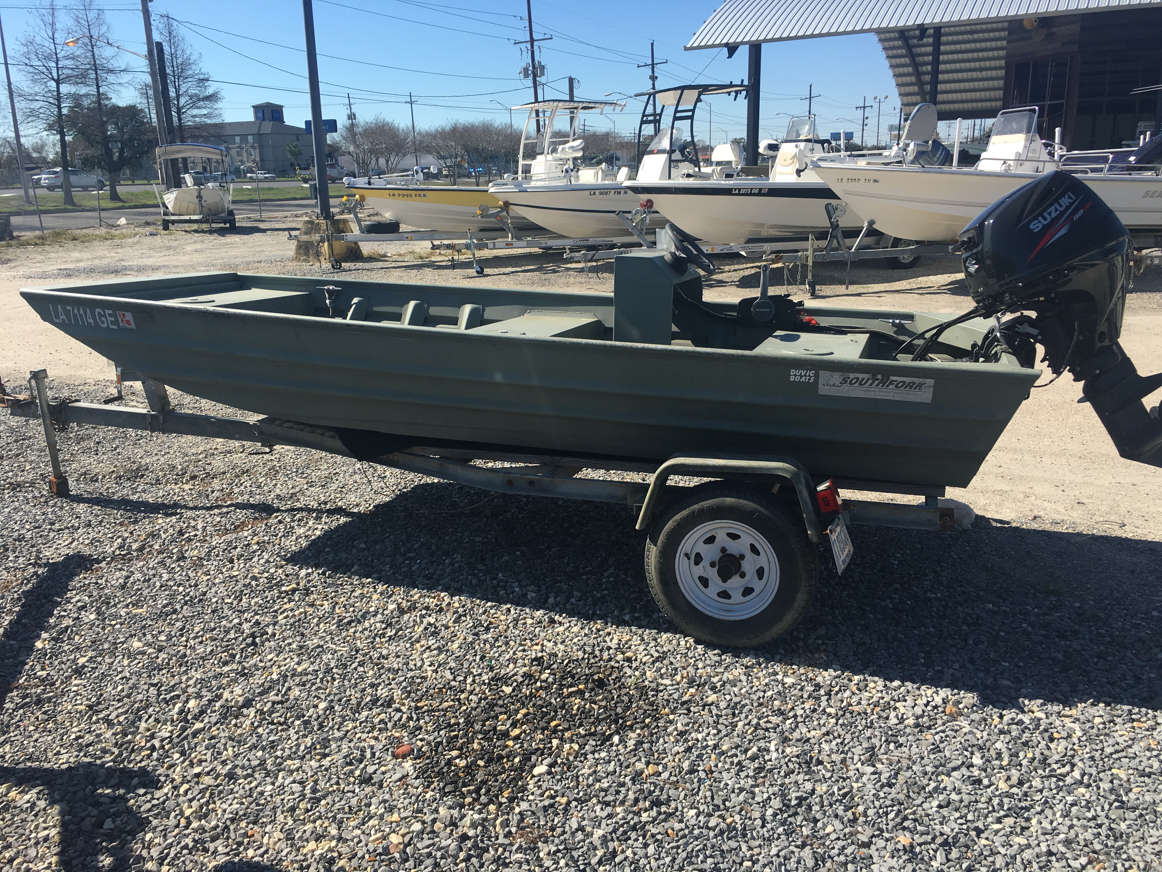 2016 Southfork boat for sale, model of the boat is 14 & Image # 1 of 8