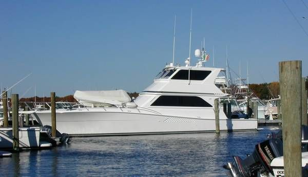 58' Viking Yachts - Enclosed Bridg