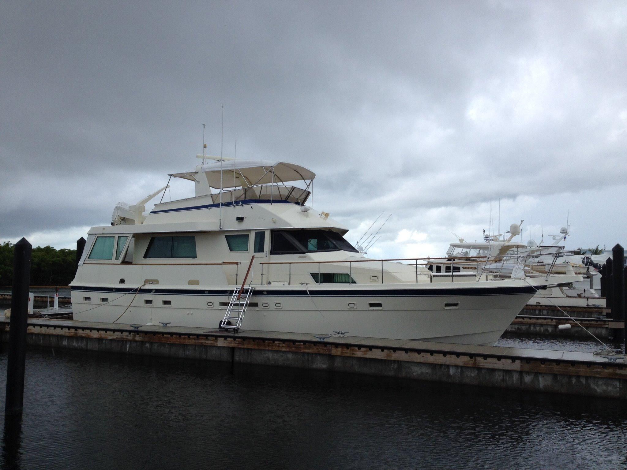 1986 hatteras motor yacht for sale for Hatteras motor yacht for sale