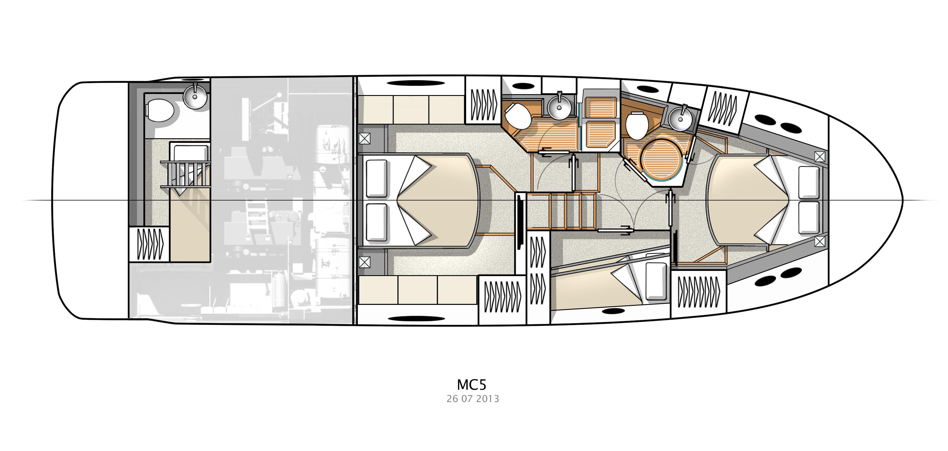 50 ft Monte Carlo 2018 In Stock on Lake Union Seattle | Denison ...