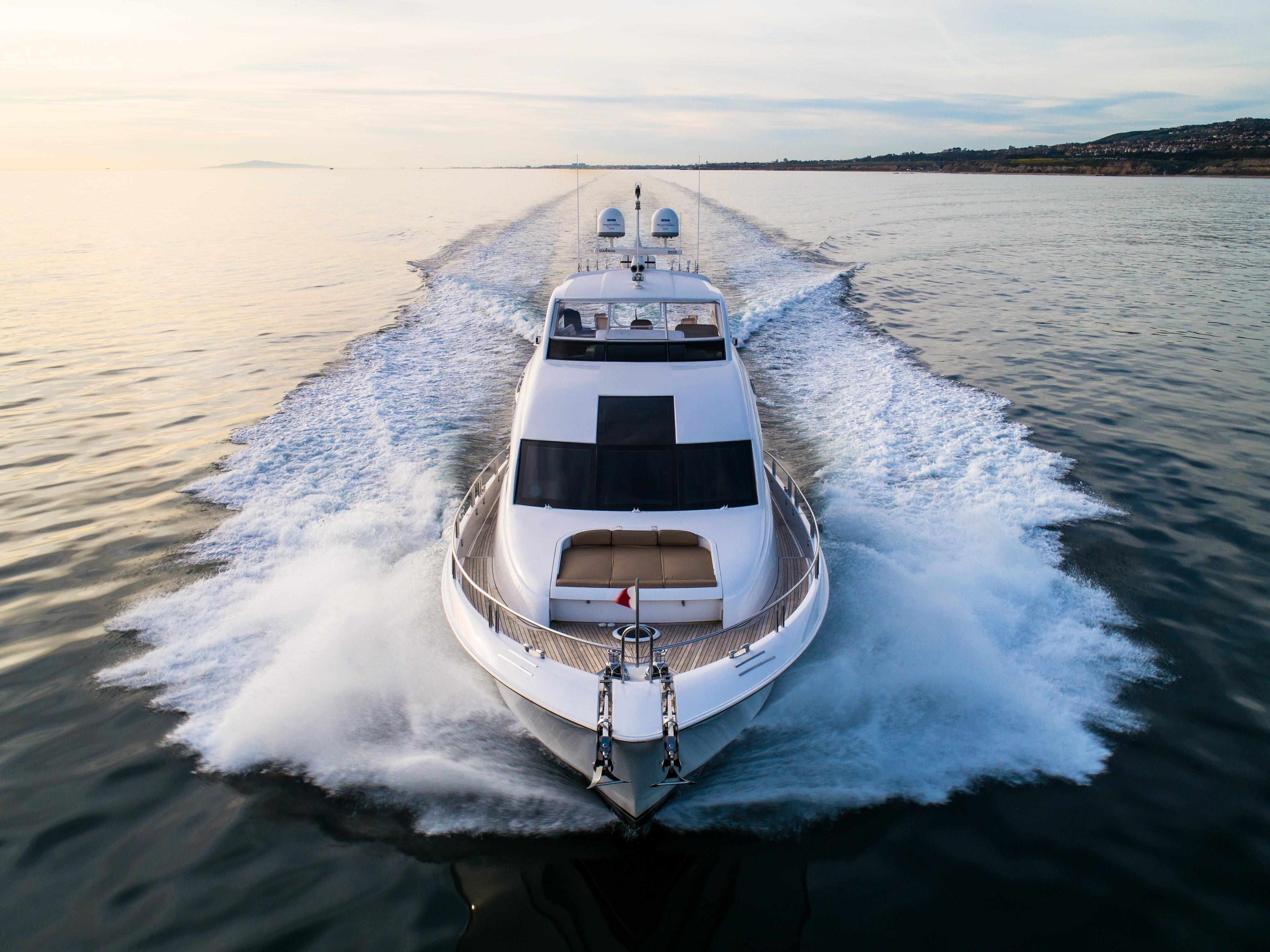 Picture Of:  84' Lazzara 84 Flybridge 2006Yacht For Sale | 3 of 56