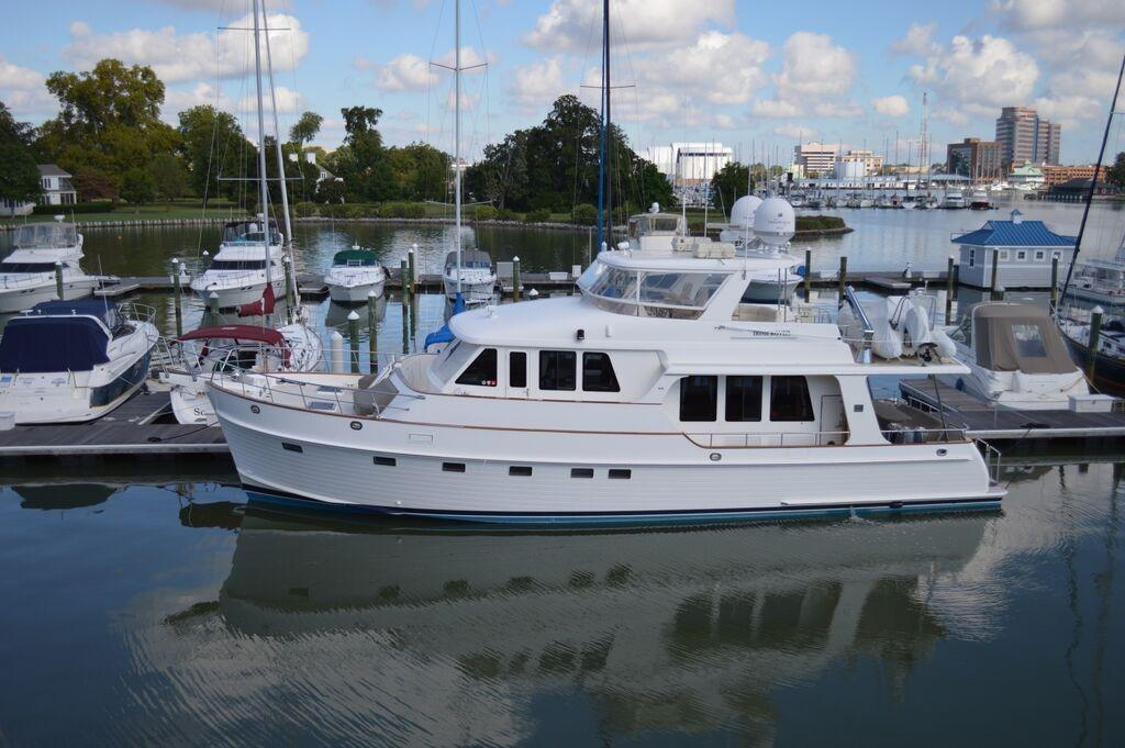 Used grand banks yachts for sale from 53 to 59 feet for Grand banks motor yachts for sale