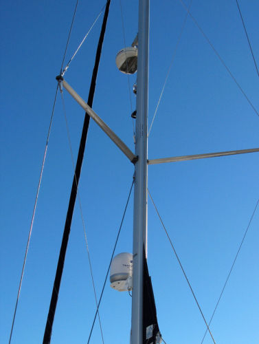 In-Mast Mainsail With Vertical Battons