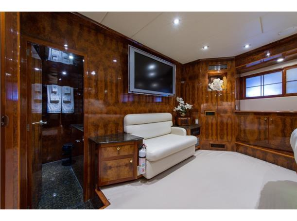 Forward stateroom, aft view