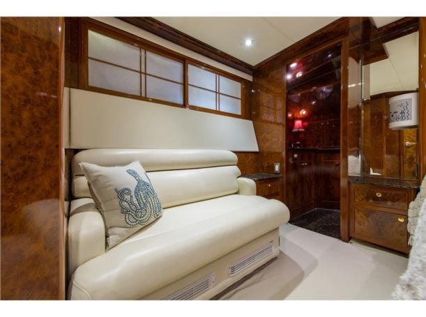 Aft stateroom starboard view