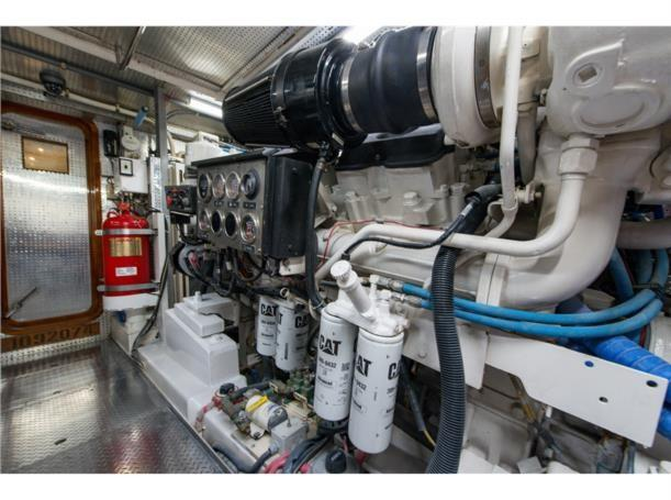 Engine room, forward view
