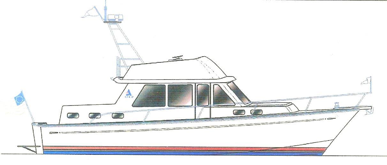 The New 43' 2014 Albin North Sea Cutter