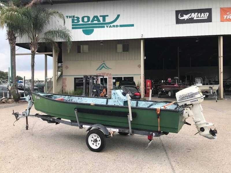 1986 Custom boat for sale, model of the boat is 16 Skiff & Image # 1 of 8