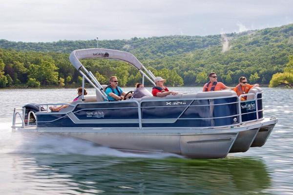 2019 SunCatcher boat for sale, model of the boat is X324 SS & Image # 1 of 5