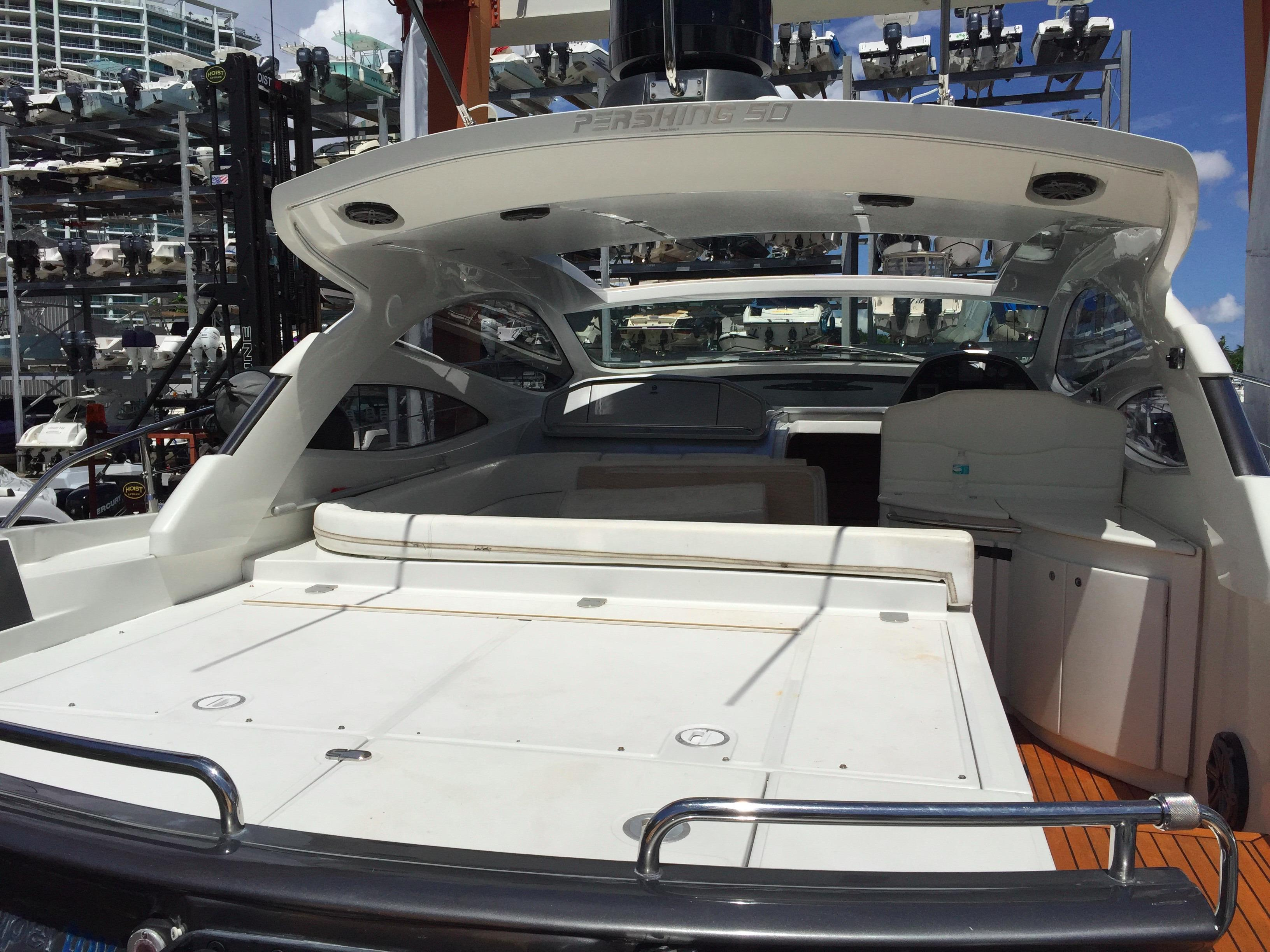 50 ft Pershing w/ Surface Drives | Executive Yacht Canada