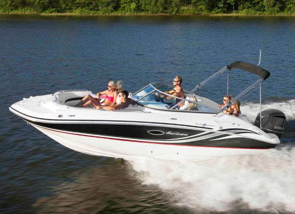 New 2013 hurricane sundeck 2200 ob for sale in gulf shores for Hurricane sundeck for sale