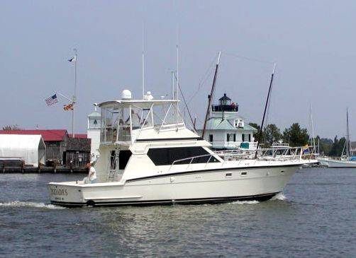 Hatteras 48 Convertible MINT