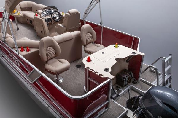 2019 SunCatcher boat for sale, model of the boat is X322 RF & Image # 4 of 6