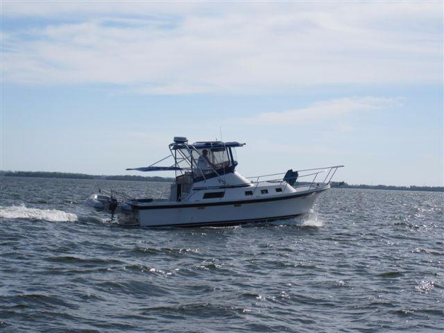 32' Albin 1990 Sportfisher Great Shape