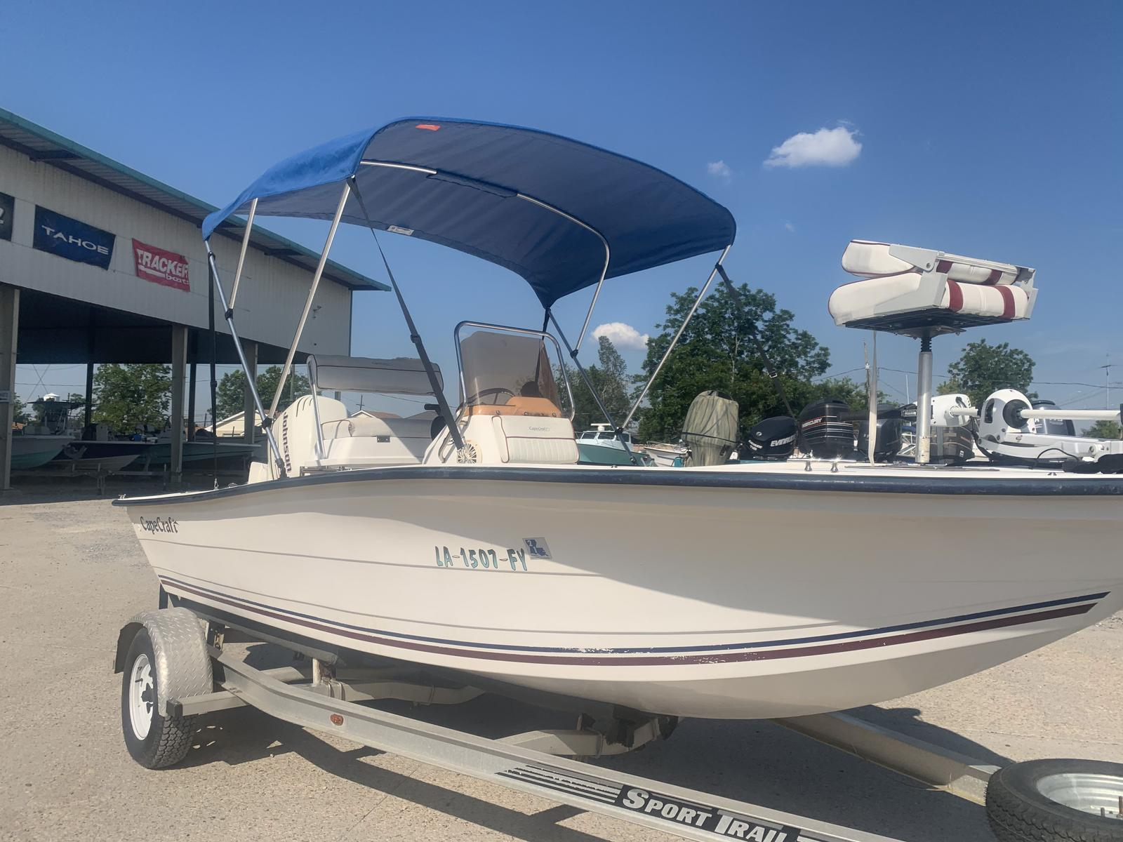 2007 Cape Craft boat for sale, model of the boat is 18 CC & Image # 3 of 8