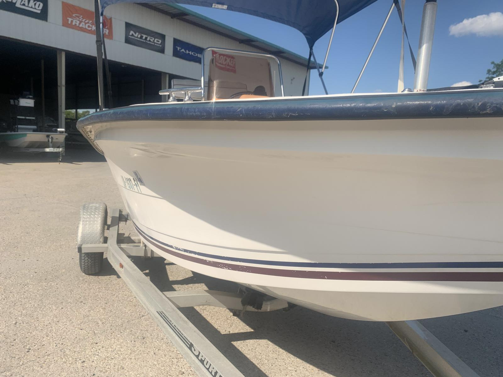 2007 Cape Craft boat for sale, model of the boat is 18 CC & Image # 4 of 8