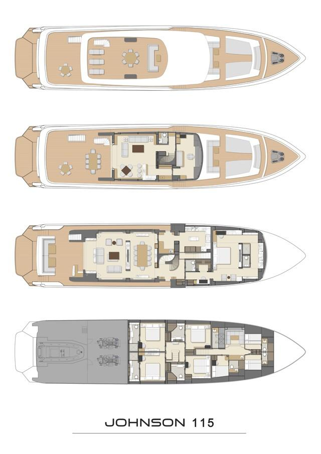 2019 115 ft Yacht For Sale   Allied Marine