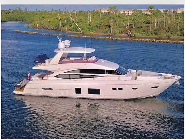 2015 72' Princess Motor Yacht