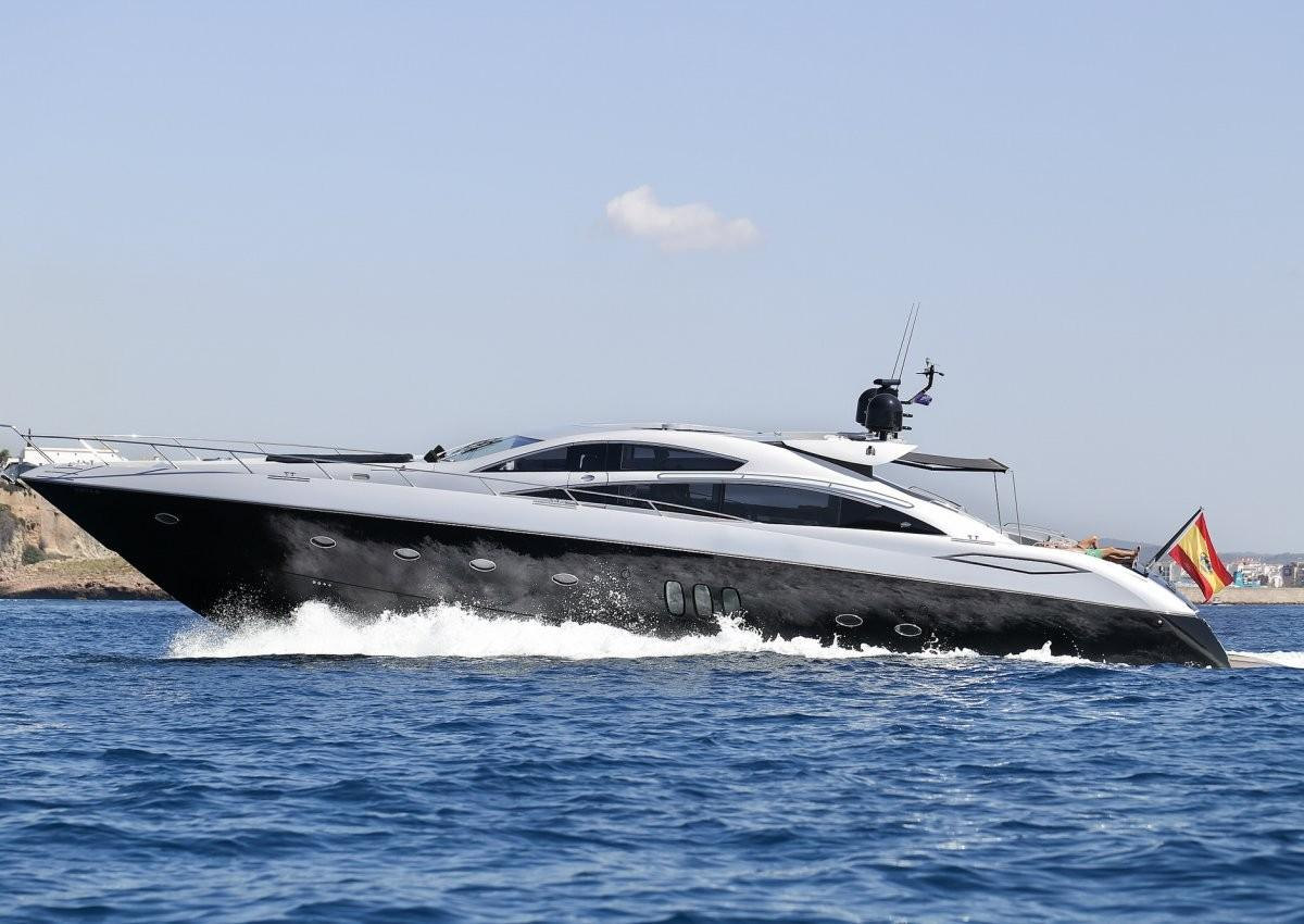 78.74 ft Sunseeker Predator 82