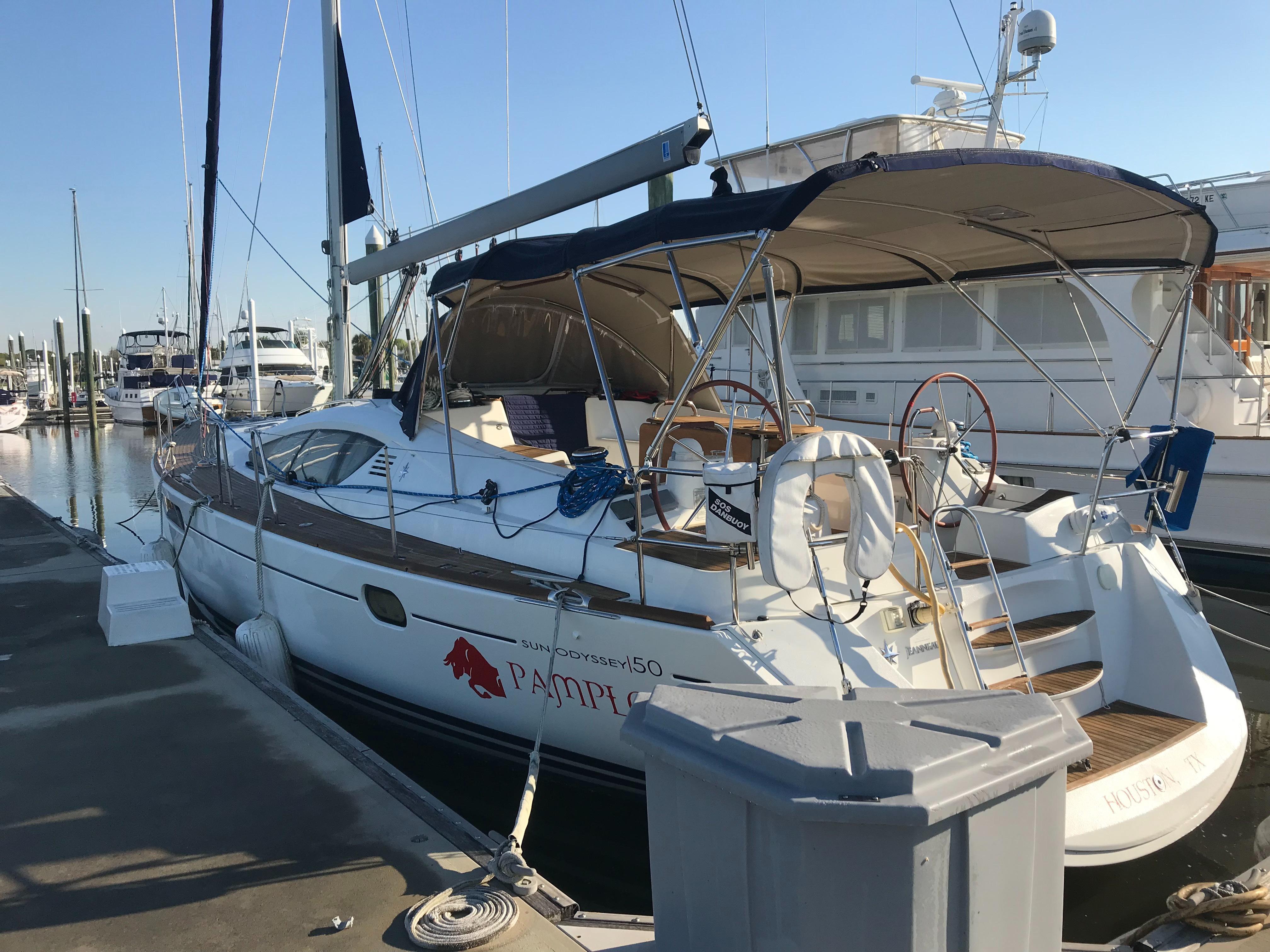 50 Jeanneau Pompalona 2011 Seabrook | Denison Yacht Sales on