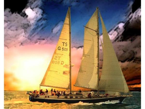 AUCOOP-Bootswerft 2-Mast-Schooner