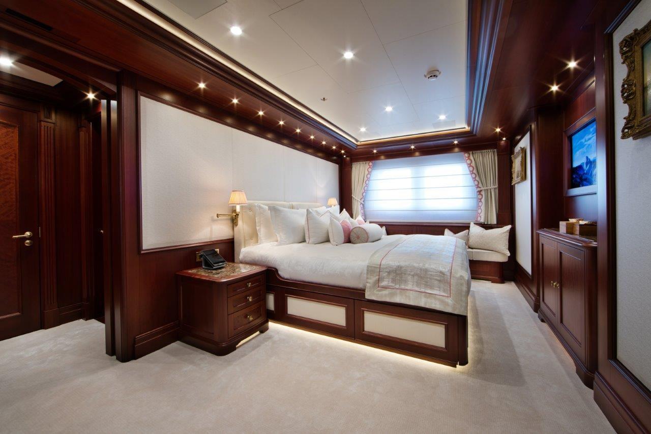 279 Lurssen One of Four Lower Deck Guest Suites