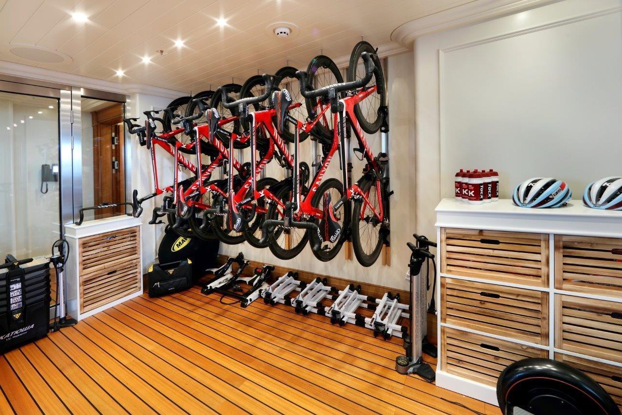 279 Lurssen Bike Storage