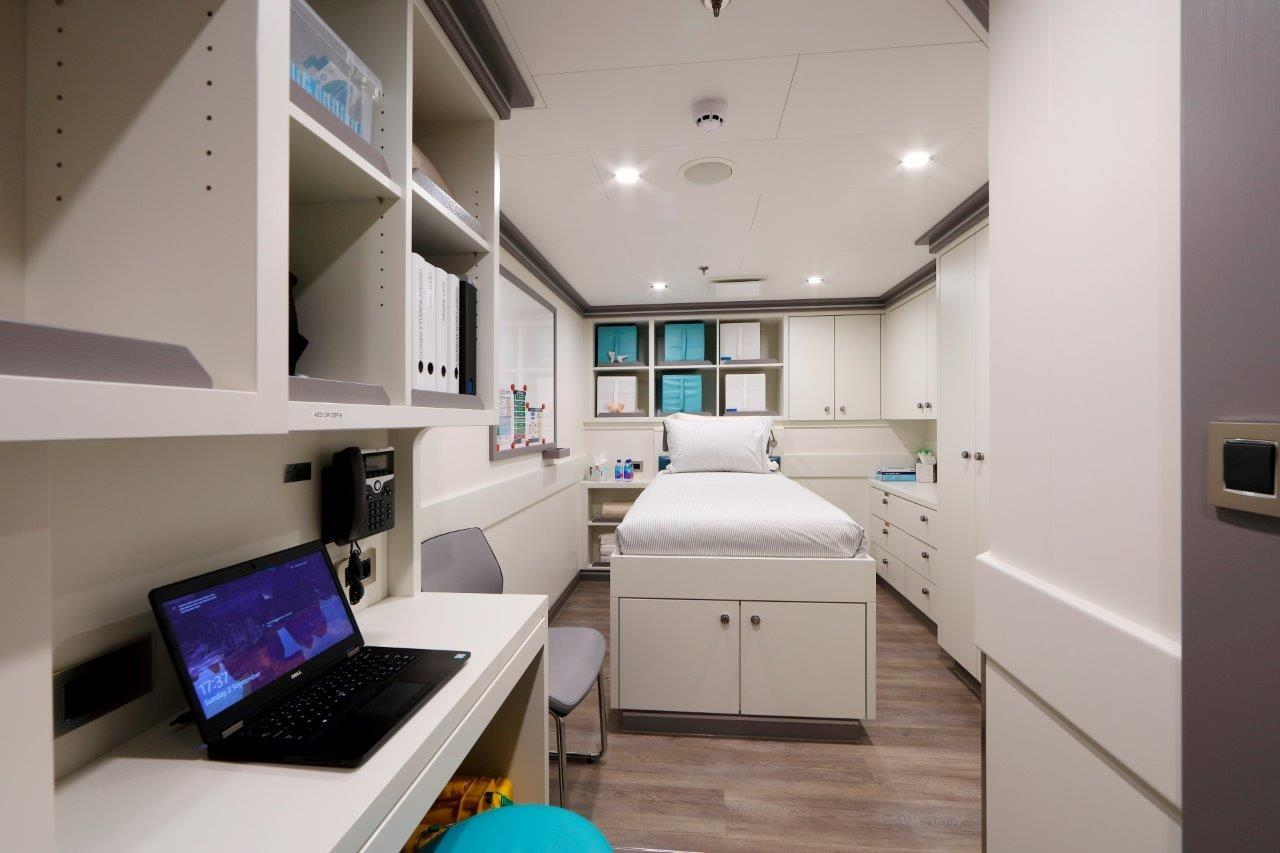 279 Lurssen Infirmary/Sick/Bay/Hospital