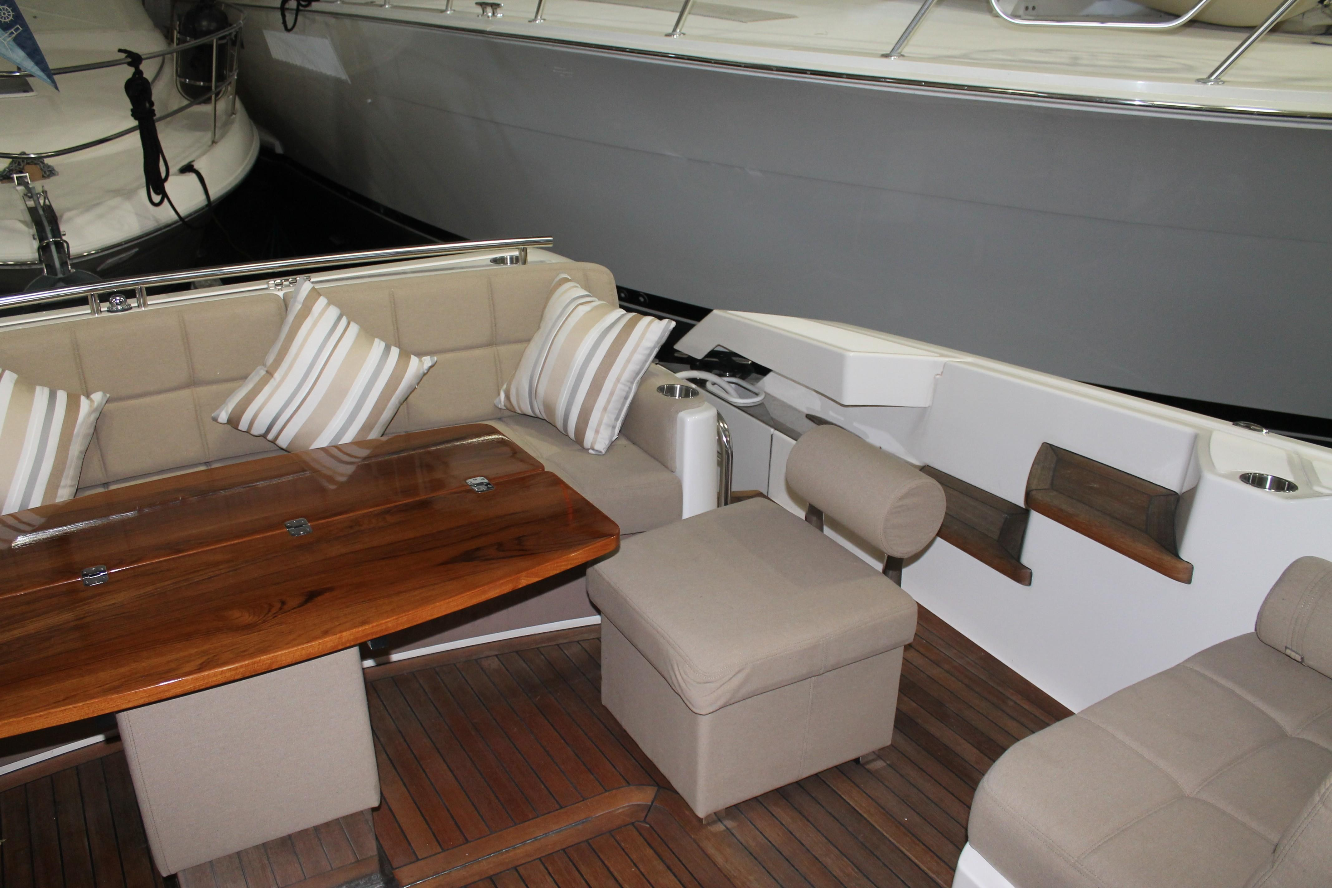 Aft Port Seating
