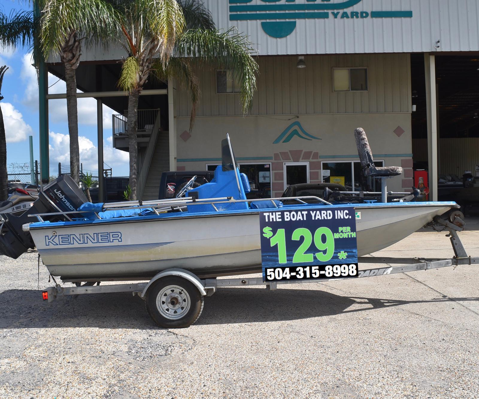 1990 Kenner boat for sale, model of the boat is 16 & Image # 1 of 11