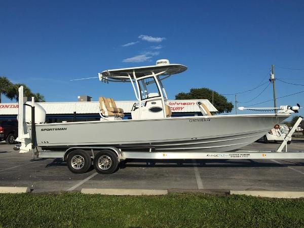 2018 SPORTSMAN BOATS 267 CC for sale