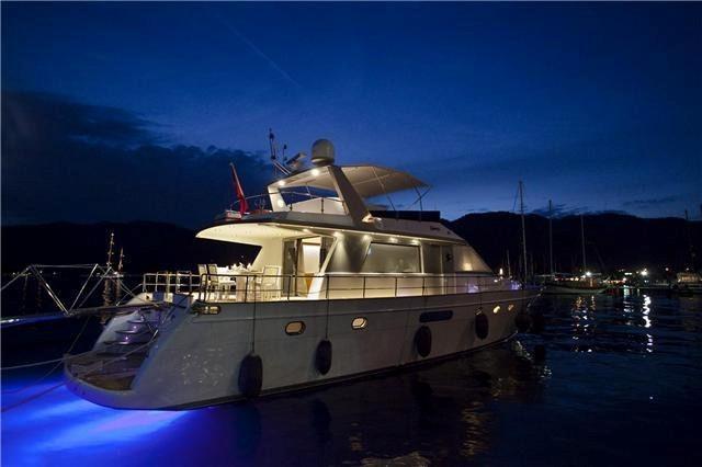 Custombuilt Wooden motor yacht