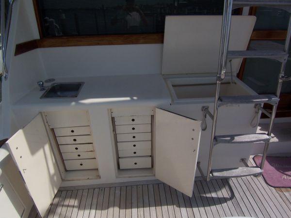 Cockpit Frreezer And Drawers
