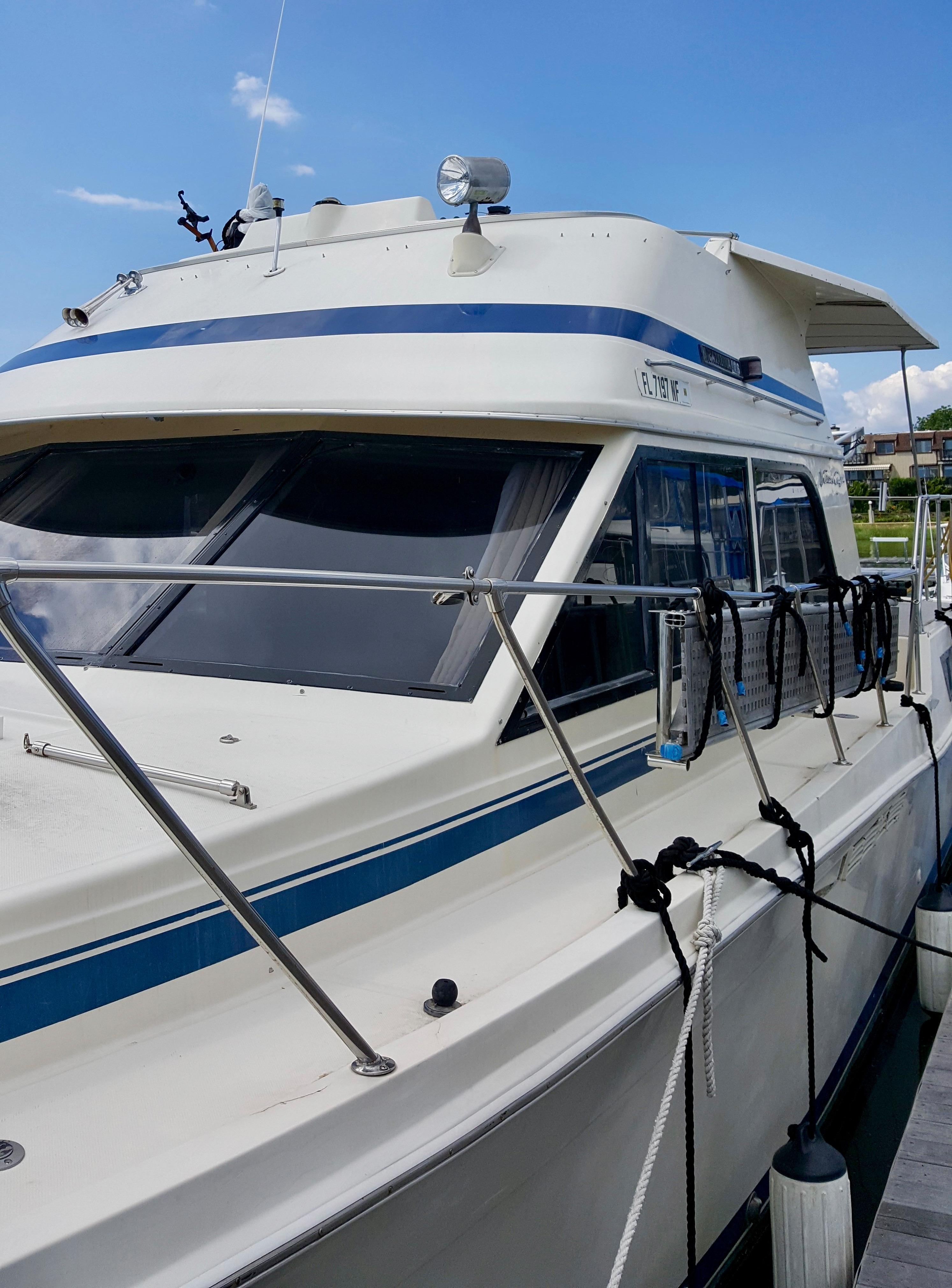42 Chris Craft Catalina Acmy Yacht For Sale Rubicon Yachts Model A Engine Diagram Details Dimensions Engines Tanks Accommodations