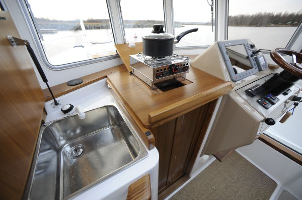 Sargo 25 galley facilities