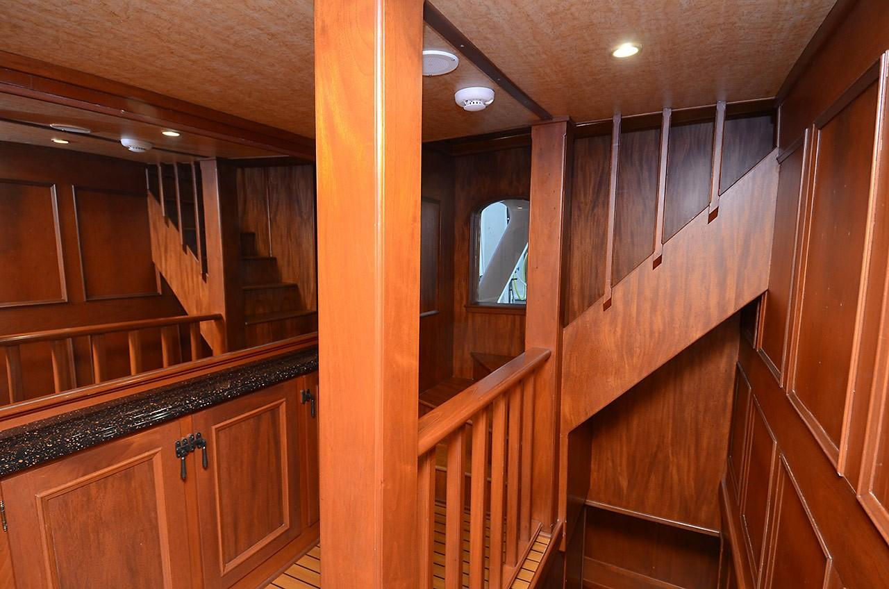 Companionway - Stairs to Pilothouse