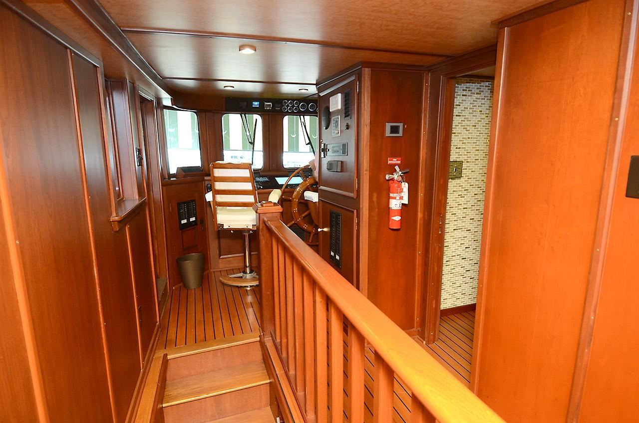 Pilothouse Companionway