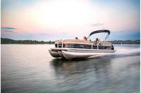2019 Sun Tracker boat for sale, model of the boat is PARTY BARGE 24 XP3 w/ Mercury 150Hp 4S & Image # 1 of 18