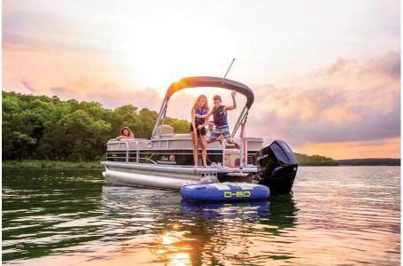 2019 Sun Tracker boat for sale, model of the boat is PARTY BARGE 24 XP3 w/ Mercury 150Hp 4S & Image # 14 of 18