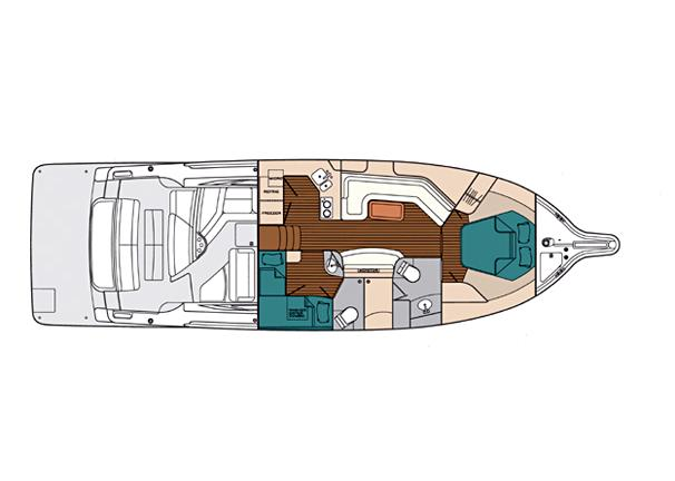 Manufacturer Provided Image: Deck Plan